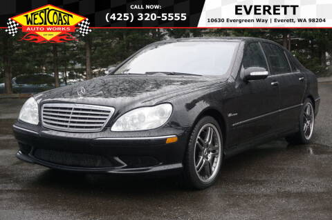2006 Mercedes-Benz S-Class for sale at West Coast Auto Works in Edmonds WA