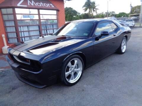 2012 Dodge Challenger for sale at Z MOTORS INC in Hollywood FL