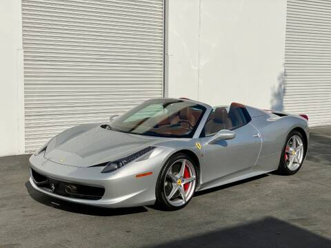 2013 Ferrari 458 Spider for sale at Corsa Exotics Inc in Montebello CA
