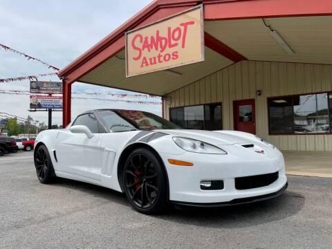2010 Chevrolet Corvette for sale at Sandlot Autos in Tyler TX