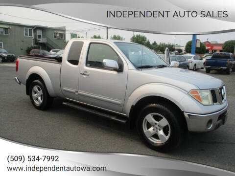 2006 Nissan Frontier for sale at Independent Auto Sales in Spokane Valley WA