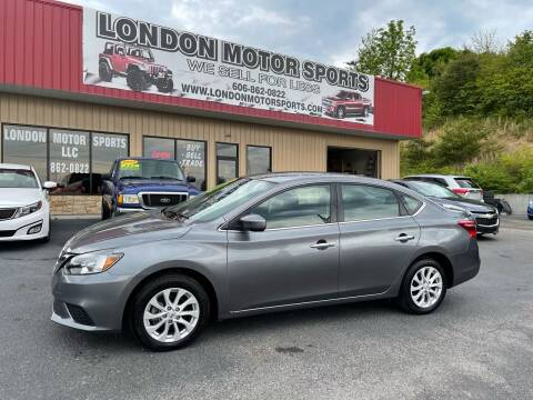 2019 Nissan Sentra for sale at London Motor Sports, LLC in London KY