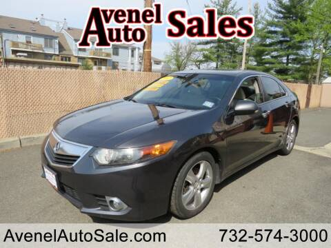 2012 Acura TSX for sale at Avenel Auto Sales in Avenel NJ