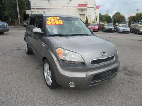2011 Kia Soul for sale at Auto Bella Inc. in Clayton NC
