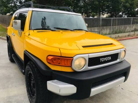 2007 Toyota FJ Cruiser for sale at E-Z Auto Finance in Marietta GA