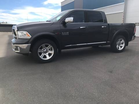 2016 RAM Ram Pickup 1500 for sale at Canuck Truck in Magrath AB
