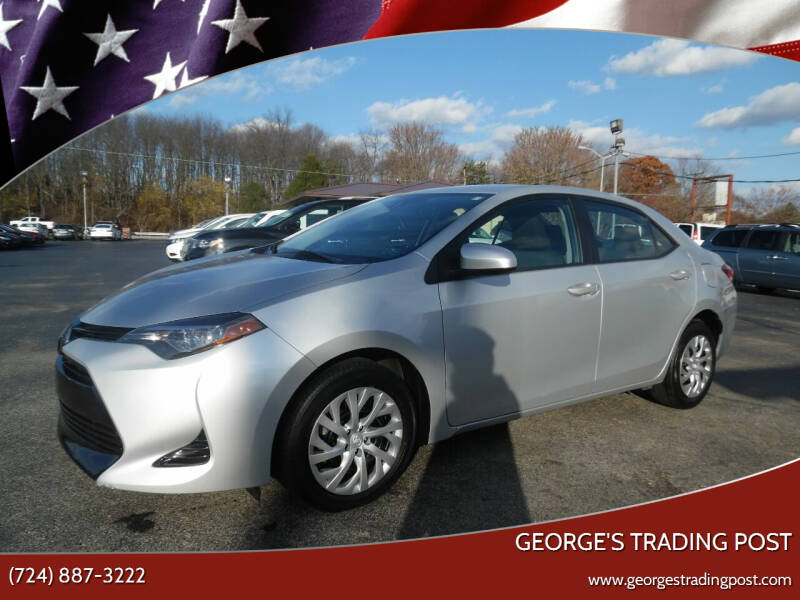 2018 Toyota Corolla for sale at GEORGE'S TRADING POST in Scottdale PA