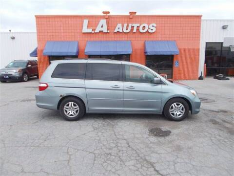 2007 Honda Odyssey for sale at L A AUTOS in Omaha NE