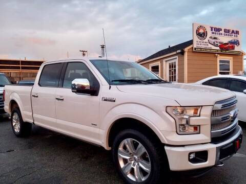 2015 Ford F-150 for sale at Top Gear Cars LLC in Lynn MA