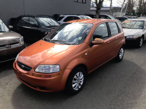 2008 Chevrolet Aveo for sale at Car Craft Auto Sales Inc in Lynnwood WA