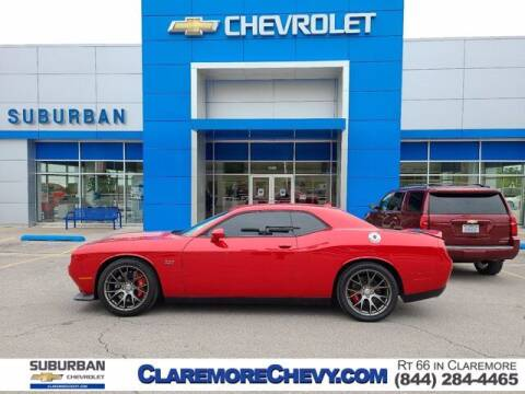 2016 Dodge Challenger for sale at Suburban Chevrolet in Claremore OK