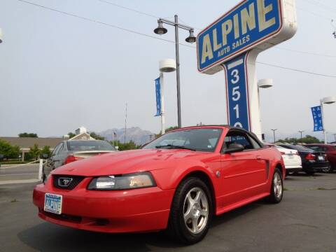 2004 Ford Mustang for sale at Alpine Auto Sales in Salt Lake City UT