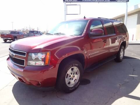 2008 Chevrolet Suburban for sale at FINISH LINE AUTO SALES in Idaho Falls ID