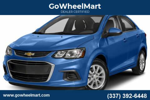 2018 Chevrolet Sonic for sale at GoWheelMart in Leesville LA