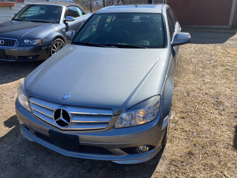 2008 Mercedes-Benz C-Class for sale at Richard C Peck Auto Sales in Wellsville NY