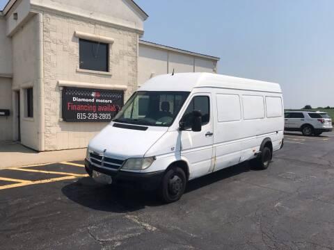 2004 Dodge Sprinter Cargo for sale at Diamond Motors in Pecatonica IL