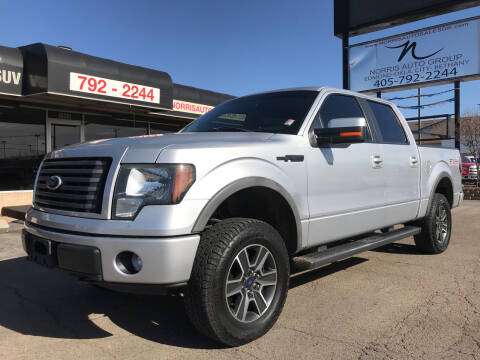 2011 Ford F-150 for sale at NORRIS AUTO SALES in Oklahoma City OK