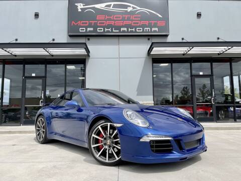 2013 Porsche 911 for sale at Exotic Motorsports of Oklahoma in Edmond OK