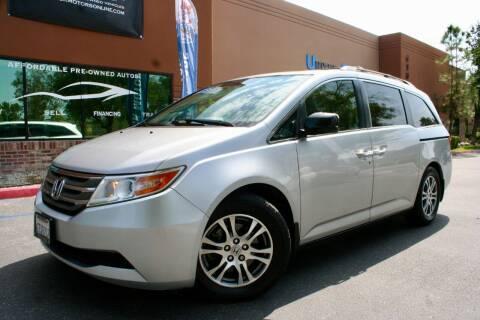 2011 Honda Odyssey for sale at CK Motors in Murrieta CA
