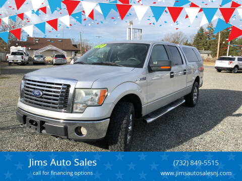 2010 Ford F-150 for sale at Jims Auto Sales in Lakehurst NJ