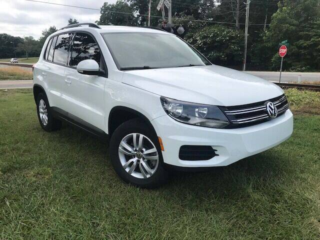 2016 Volkswagen Tiguan for sale at Automotive Experts Sales in Statham GA