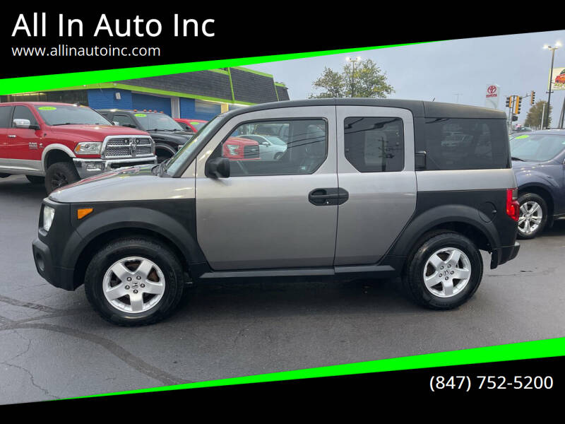 2005 Honda Element for sale at All In Auto Inc in Palatine IL