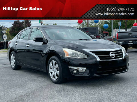 2013 Nissan Altima for sale at Hilltop Car Sales in Knoxville TN