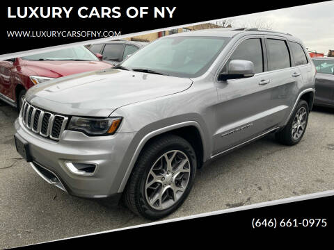 2018 Jeep Grand Cherokee for sale at LUXURY CARS OF NY in Queens NY