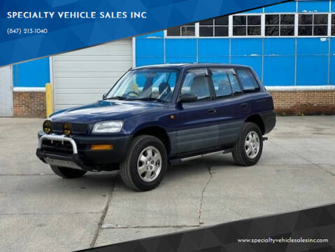 1995 Toyota RAV4 J for sale at SPECIALTY VEHICLE SALES INC in Skokie IL