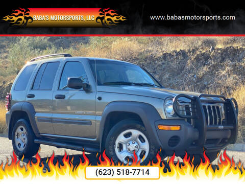 2003 Jeep Liberty for sale at Baba's Motorsports, LLC in Phoenix AZ