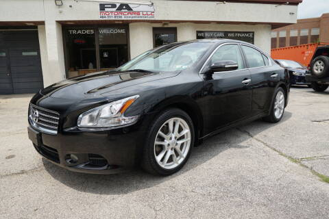 2011 Nissan Maxima for sale at PA Motorcars in Conshohocken PA