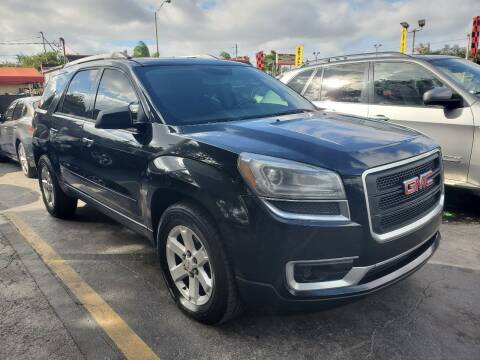 2014 GMC Acadia for sale at America Auto Wholesale Inc in Miami FL