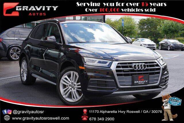 2018 Audi Q5 for sale at Gravity Autos Roswell in Roswell GA