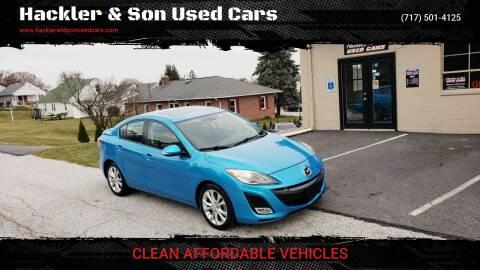 2010 Mazda MAZDA3 for sale at Hackler & Son Used Cars in Red Lion PA