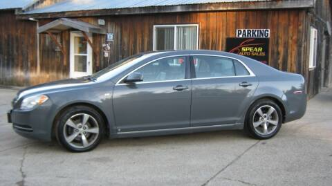 2008 Chevrolet Malibu for sale at Spear Auto Sales in Wadena MN