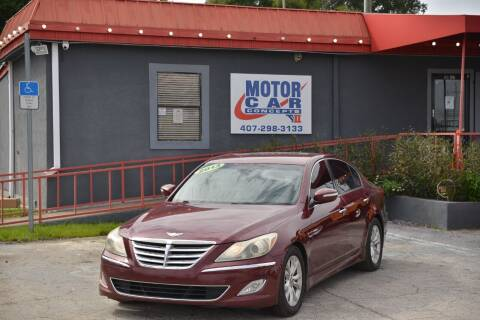 2013 Hyundai Genesis for sale at Motor Car Concepts II - Kirkman Location in Orlando FL
