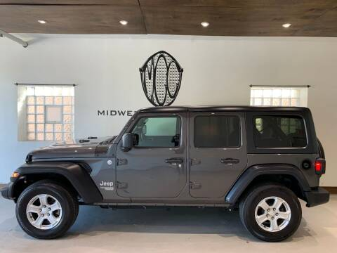 2018 Jeep Wrangler Unlimited for sale at Midwest Car Connect in Villa Park IL