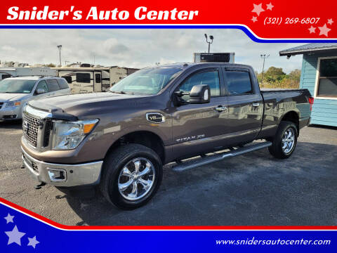 2017 Nissan Titan XD for sale at Snider's Auto Center in Titusville FL