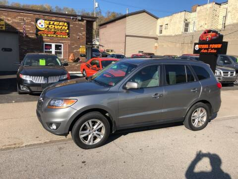 2011 Hyundai Santa Fe for sale at STEEL TOWN PRE OWNED AUTO SALES in Weirton WV