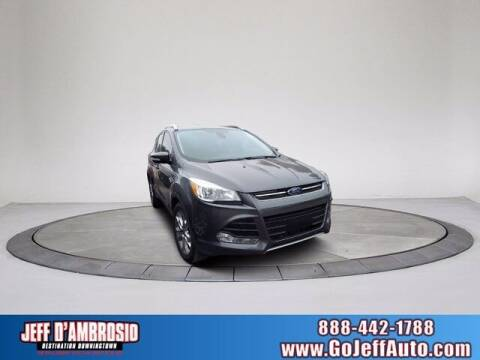 2016 Ford Escape for sale at Jeff D'Ambrosio Auto Group in Downingtown PA
