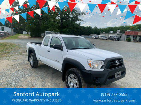 2013 Toyota Tacoma for sale at Sanford Autopark in Sanford NC