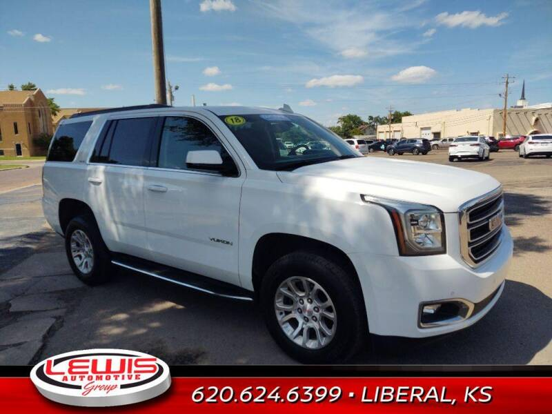 2018 GMC Yukon for sale at Lewis Chevrolet Buick of Liberal in Liberal KS