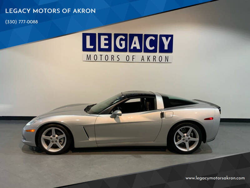 2005 Chevrolet Corvette for sale at LEGACY MOTORS OF AKRON in Akron OH