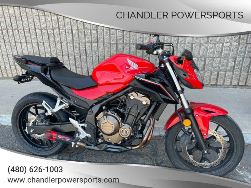 2017 Honda CB 500F for sale at Chandler Powersports in Chandler AZ