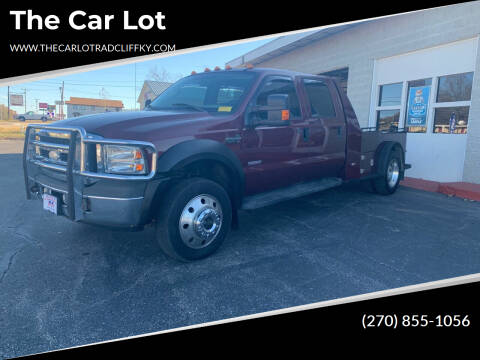 2006 Ford F-550 Super Duty for sale at The Car Lot in Radcliff KY