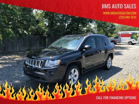 2012 Jeep Compass for sale at Jims Auto Sales in Lakehurst NJ