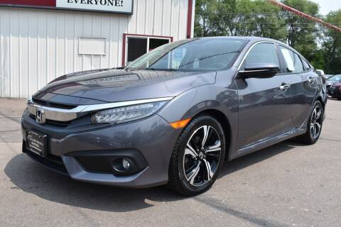 2016 Honda Civic for sale at Dealswithwheels in Inver Grove Heights MN