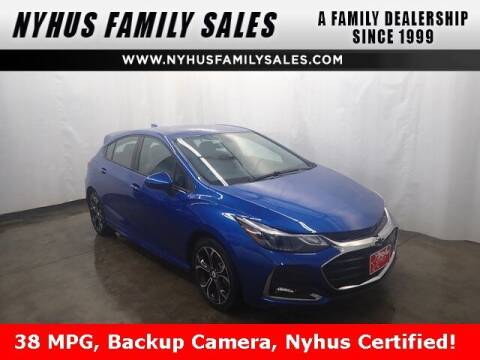 2019 Chevrolet Cruze for sale at Nyhus Family Sales in Perham MN
