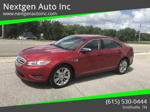 2011 Ford Taurus for sale at Nextgen Auto Inc in Smithville TN