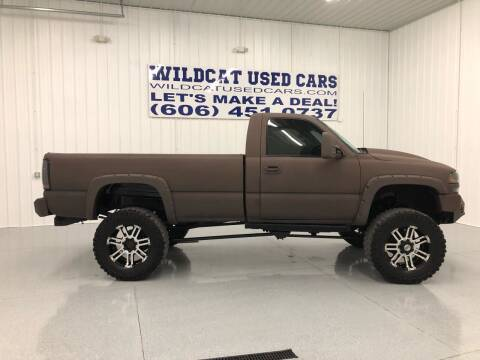 2002 GMC Sierra 2500HD for sale at Wildcat Used Cars in Somerset KY